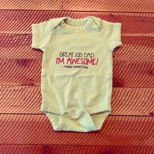 Cafe press Father's Day onesie 0-3 months